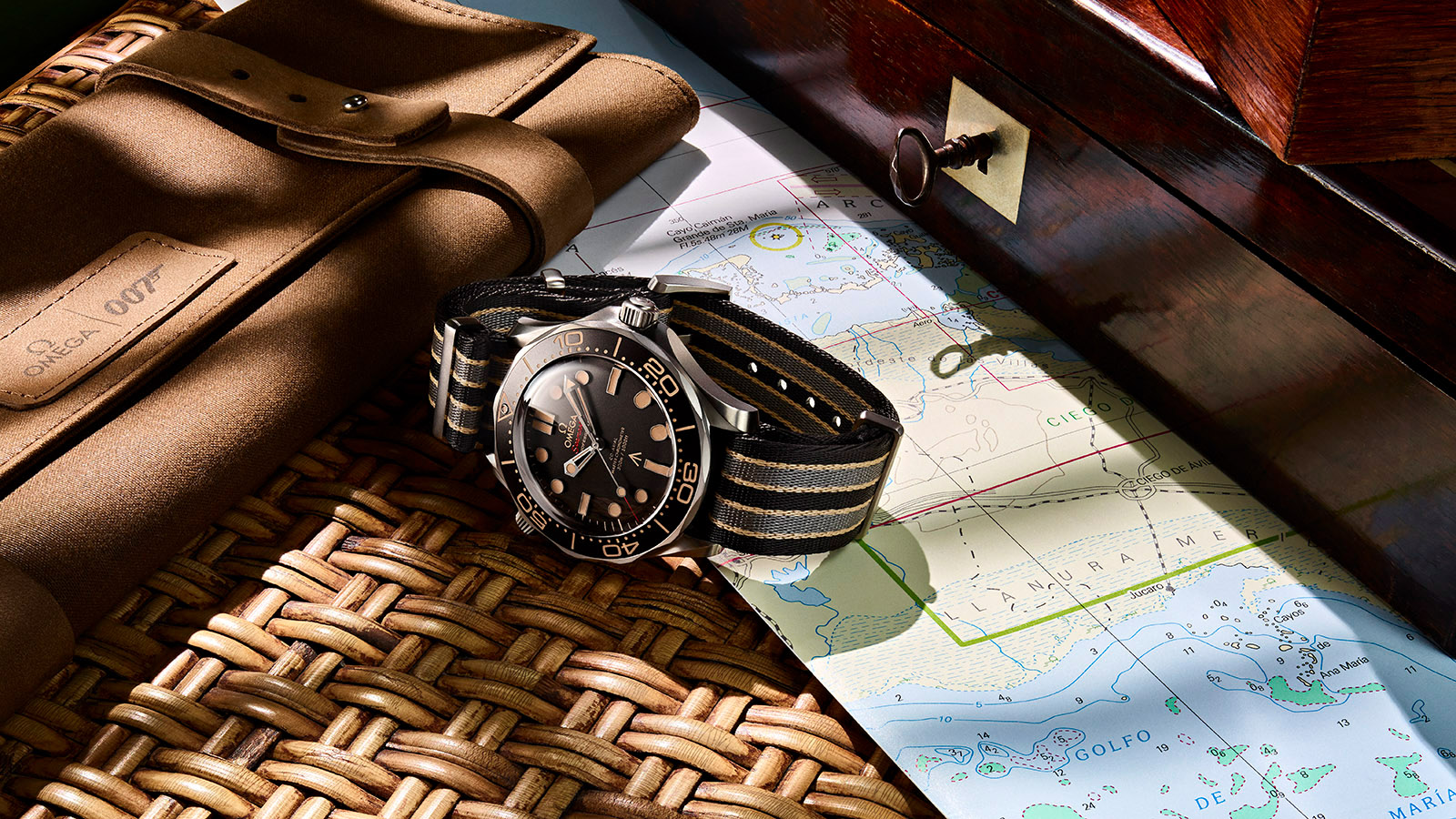 Omega Seamaster Diver 300M 007 No Time To Die