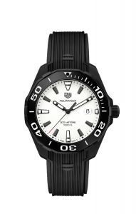 TAG Heuer Aquaracer - WAY108A.FT6141 - selvlysende urskive og visere med hvit superluminova.