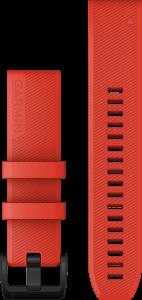 QuickFit 22mm Laserrød silikonrem