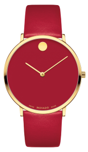 Movado Museum Red