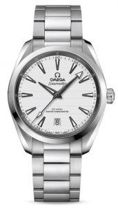 Omega Seamaster Aqua Terra 150M Co-Axial Master Chronometer 38 MM sølv