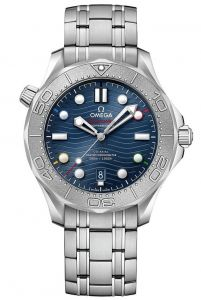 """OMEGA SEAMASTER """"BEIJING 2022"""" DIVER 300M CO-AXIAL CHRONOMETER 42MM"""