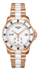 Certina DS First Lady Ceramic - C0142353301100