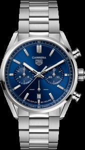 Tag Heuer Carrera Elegant Chronograph Blue