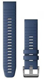 QuickFit 22mm Kapteinsblå silikonrem