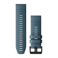 Garmin QuickFit 26mm Havblå silikonrem