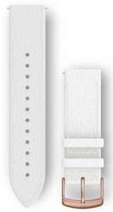 Garmin 20mm White Italian skinnrem med hurtigkobling