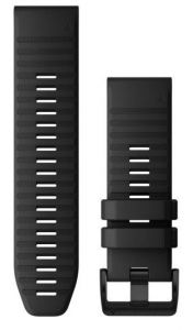 Garmin QuickFit 26mm Sort silikonrem