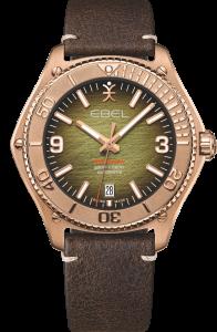 Ebel Discovery Bronse Grønn skive klokke Limited Edition