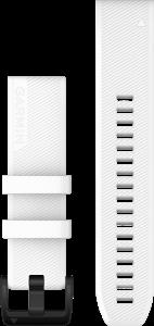 QuickFit 22mm Hvit silikonrem