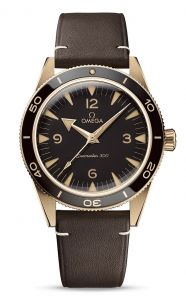 Omea Seamaster 300 Co-Axial Master Chronometer 9K Bronze Gull