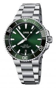 Oris Aquis Date Green 41,5Mm