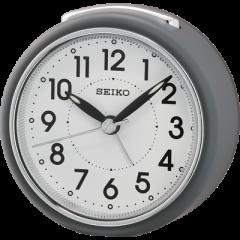 SEIKO ALARM CLOCK 8X8X5CM SWEEP BEEP LUMIBRITE