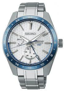 Seiko Presage Sharp Edged GMT 140th Anniversary Limited Edition