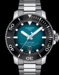 Tissot Seastar 2000 Professional Powermatic 80 Grønn