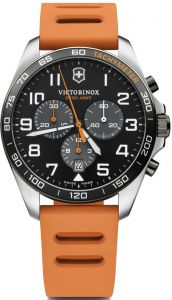 VICTORINOX FIELD FORCE SPORT CHR 42 MM BLACK DIAL